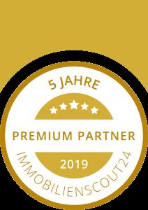 Kromer Immobilien ist Immobilienscout24 Premium Partner